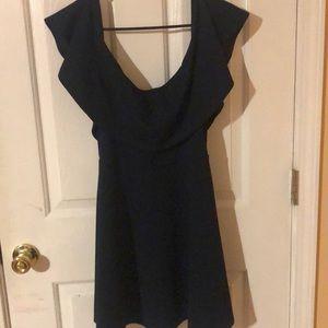 Dresses & Skirts - Off the shoulder green dress